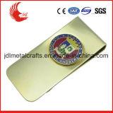 Clip fait sur commande d'argent en métal d'argent de promotion d'usine avec le logo personnalisé