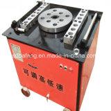 De draagbare Buigmachine van de Staaf van het Roestvrij staal