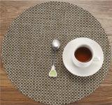 Geweven manier Placemats voor het Dineren van de Koffie de Vlam van de Lijsten van de Staaf Kitch - de Isolatie van de Hitte van de vertrager Geen Schadelijk Chemisch product Geen Plastic het Schoonmaken van de Geur Gemakkelijk Bewijs van het Water