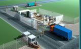 Safeway el sistema X-ray Machine-Container Captura, análisis de la carga del vehículo, el escáner