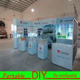Конструируйте и подгоняйте многоразовую алюминиевую портативную модульную будочку выставки