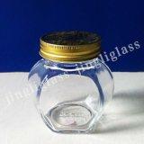 Une bonne pinte de stockage de la qualité du miel pot de verre de la cartouche en verre pour la vente