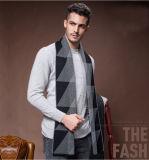 Sciarpa tessuta lavorata a maglia acrilica di nylon delle lane calde di inverno degli uomini (YKY4607)