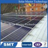 Solarhalter-Solarbefestigungsschiene-Metalldach-Solarracking für Sonnensystem