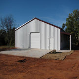 Low Cost Construction Design Steel Structure Warehouse in Clouded