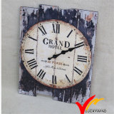 Hermoso Retro Vintage de Metal industrial Ronda Deocritive rústica Decoración de pared Reloj
