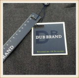 Etiqueta modificada para requisitos particulares de papel de la caída de la ropa de la alta calidad que hace compras