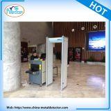 Marco de la puerta del detector de metales Detector de metales plegable escáner de cuerpo Aeropuerto