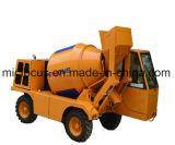 1,6 m3, 4m3 auto camion bétonnière de charge