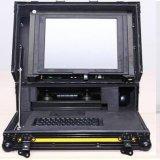Inspecção CCTV de esgotos robô com câmara de 90mm, 14 polegadas LCD, 100m de comprimento de cabo.