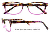 최고 형식 도매 아세테이트는 광학 프레임 아름다운 안경알을 짜맞춘다
