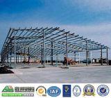 Edificio verde de la estructura de acero de Eco
