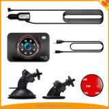 Venta caliente 3.0inch grabador de conducción del vehículo con 8 LED IR Super la versión de noche