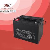 Bateria de armazenamento profunda acidificada ao chumbo da bateria do ciclo da bateria 12V70ah