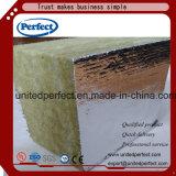 Cer Cetificate vollkommene Marken-Felsen-Wolle-Dämmplatte mit gedruckter Alu Folie Fsk