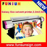 大きいDiscount Galaxy Ud3212ld Dx5 Head Large Format Eco Solvent Printer (3.2m/10FT、ビニールのステッカー、屈曲の旗のための1440dpi、)