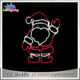 Lumières 2016 décoratives de Noël de bonhomme de neige de Relif de motif de DEL