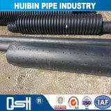 UvioresistantのHDPEのプラスチック鋼鉄巻上げの管