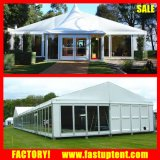 Tentes imperméables à l'eau et transparentes 500m2 de structure d'écran de chapiteau d'événement de mariage pour le mariage extérieur