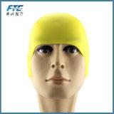 カスタマイズされた固体水泳帽の100%年のシリコーンの水泳の帽子