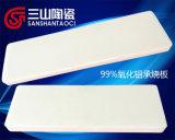 Piastrina a prova di proiettile del Sinterizzare-Cuscinetto della ceramica del mattone dell'allumina di 99% (SSTC0039)