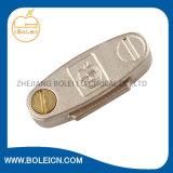 Bride réglable de mise à la terre d'agrafe de bande de C.C d'OEM d'alliage de cuivre