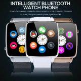 Telefone móvel do relógio inteligente de Bluetooth com ranhura para cartão de SIM (X6)