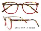 Molduras de óculos do modelo mais recente espectáculo barata óculos redondas da Estrutura