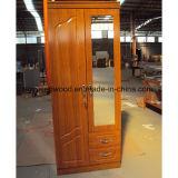 Guardaroba di legno di vendita di prezzi bassi della melammina MDF/Particle del guardaroba caldo della scheda