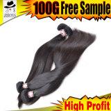 Волосы Weft малайзийской человеческого волоса добавочный номер