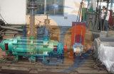 Motor eléctrico varias fases de la bomba horizontal