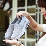 Fille surélevée et respirante sneaker mode
