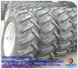 Bewässerung-Reifen des Muster-R1 stellten mit Gefäß ein