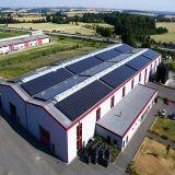 1kwによっては格子太陽エネルギーシステムを離れて使用の高周波太陽電池の電源が家へ帰る
