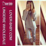 Vestiti casuali di Hoody delle magliette felpate della ragazza (L27967-4)