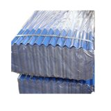 PPGI couleur acier ondulé galvanisé recouvert de tôle de toit