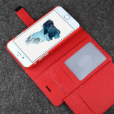 Abnehmbares Leather Magnetic Cover Card Holder für iPhone 6 Plus