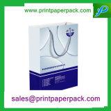 ロゴの印刷を用いる習慣によって印刷されるギフトの包装のショッピング紙袋