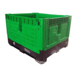 Caixa de pálete plástica dobrável por atacado para a fruta e verdura