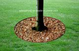 Зеленые кольца вала сада цвета Brown