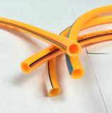 Umsponnene flexible Belüftung-Plastikwasser-Spray-Schlauchleitung
