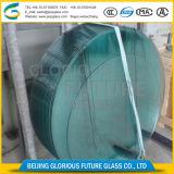 Verschillende Vorm 15mm het Aangemaakte Glas van de Bovenkant van de Lijst van 19mm