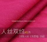 15mmのビスコースクレープDeチャインのスカートのワイシャツファブリック
