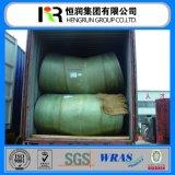 GRP / Tubo de plástico reforzado con fibra fabricante más grande con DN25-DN4000