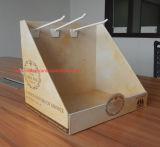 Étalage de compteur de carton avec l'impression de Cmyk, présentoir de papier, Tableau Displayting, étalage de carton, présentoir de papier, contre- unité de visualisation