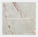 Azulejo de mármol amarillento/blanco/negro chino para el suelo y las tapas