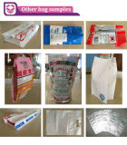 Cuatro Funciones de compras plásticos de la manija de la máquina de fabricación de bolsas