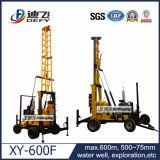 井戸に使用するトラックタイプ掘削装置