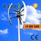 De lage Turbine van de Wind van T/min 1-5kw Verticale voor het Gebruik van het Huis