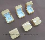 Doos van de Verpakking van de Gift van de juwelen van de douane de Stevige Houten